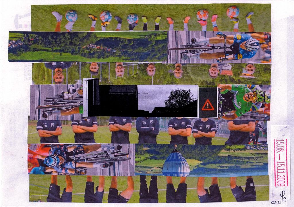 Erste Collage des CEO. © VG Bild-Kunst, 2021